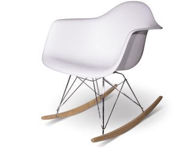 Rocking Chair Eames - Blanc