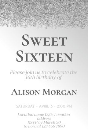 Design amazing party invitations, just in seconds. It's easy, fast and free. PixTeller is an online photo editor designed to enhance your creativity and your imagination. You can choose one of our hundreds of templates or start your own design from scratch. Check it out and you will love it!