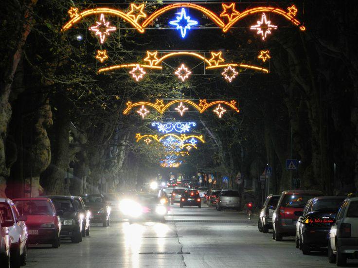 Before Christmas in my city, Kiskunfelegyhaza, Hungary, Nikon Coolpix L310, 50mm, 1s, ISO100, f/5.6, HDR-Art photography, 201612101736