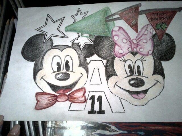 A quick design for a class flag. Disney inspired