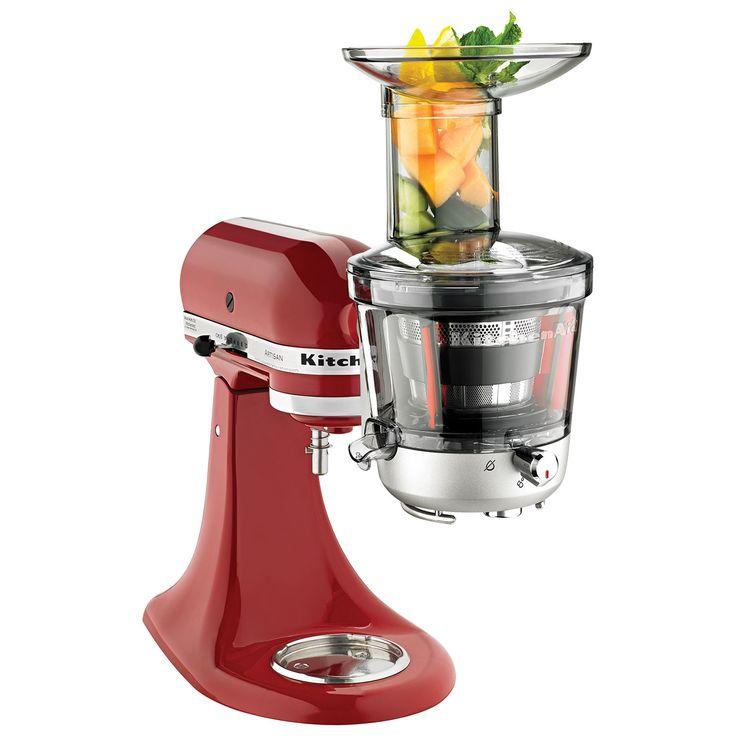 Kitchenaid juicer sauce attachment mixer attachments