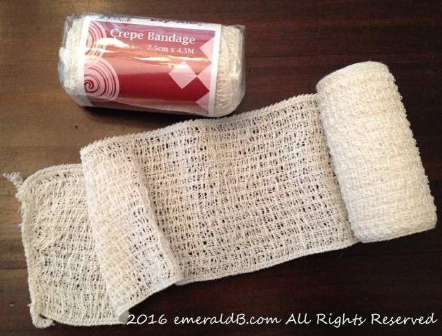 Cotton Crepe Bandages (Rey DIY craft accessories)