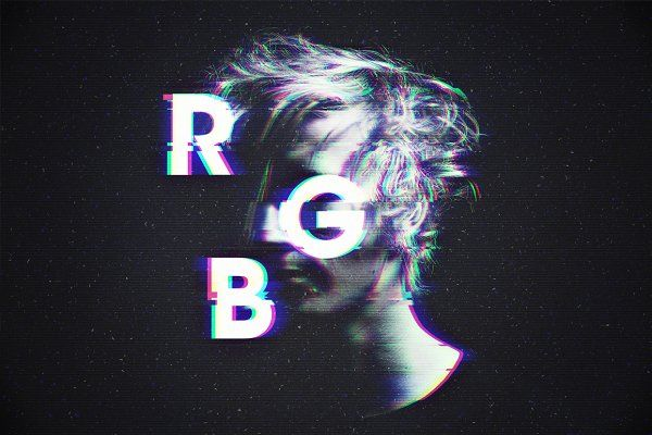 RGB / Glitch Photo FX - Graphics