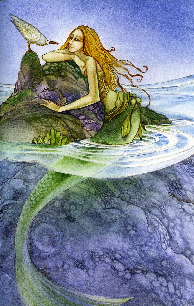 1041 Best Images About Mermaid Art On Pinterest