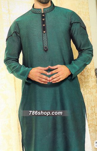 Teal Shalwar Kameez Suit | Buy Pakistani Indian Dresses