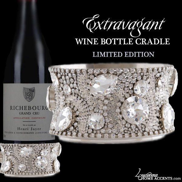 Luxurious Wedding Gifts | Luxury Engagement Gifts | Wedding Gift Ideas — Extravagant Swarovski Crystal Ice Bucket