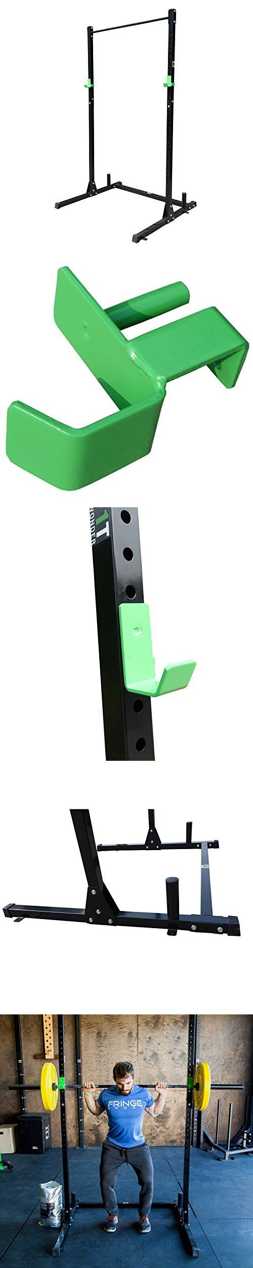 Squat Rack with Pullup Bar by OneFitWonder Life Series