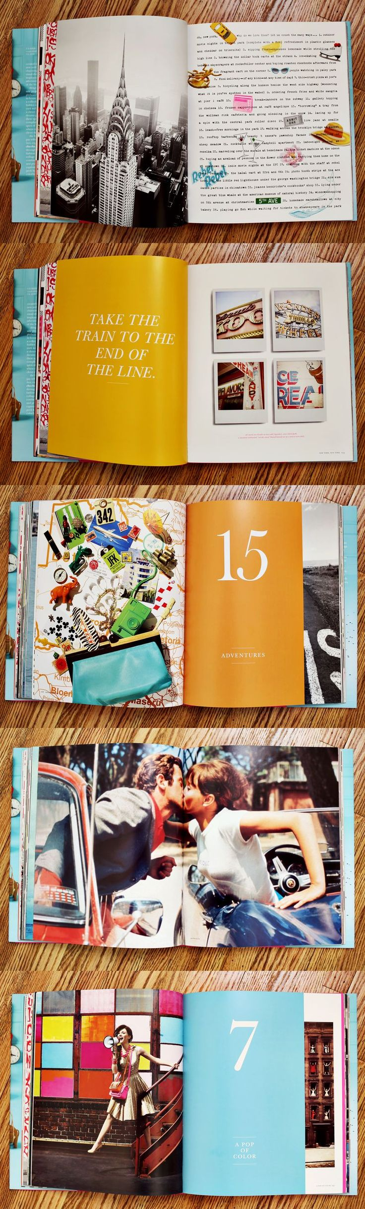 Kate Spade Things We Love Book: what do you think of the kissing spread @Tara Cunningham-Keator?