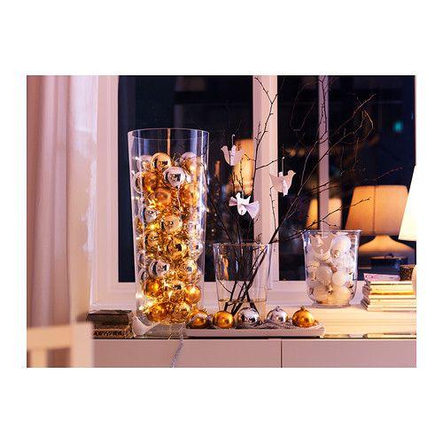 BLADET Florero IKEA De soplado artesanal. Cada florero ha sido diseñado por un artesano experimentado.