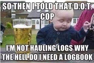 Funny Semi Truck Driver Memes & Diesel Trucker Jokes