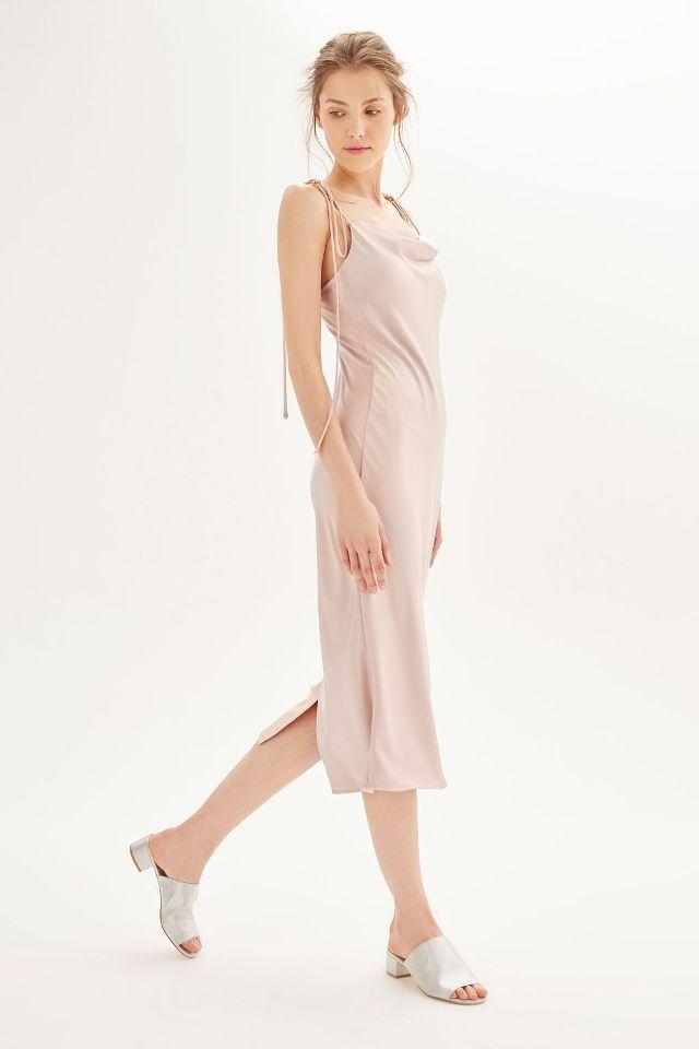 Topshop bridesmaid dresses - satin