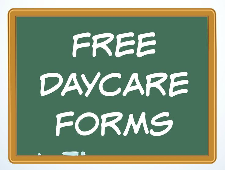 Best Daycare Forms Ideas On Pinterest Childcare Home - Free daycare business plan template