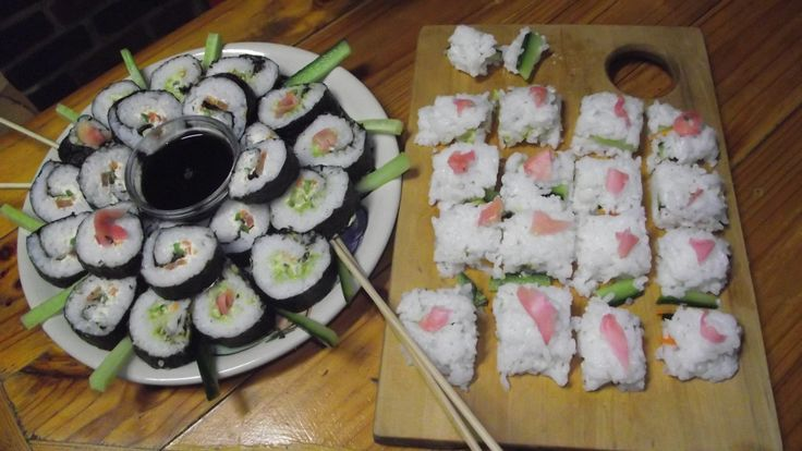 My own Home made Sushi