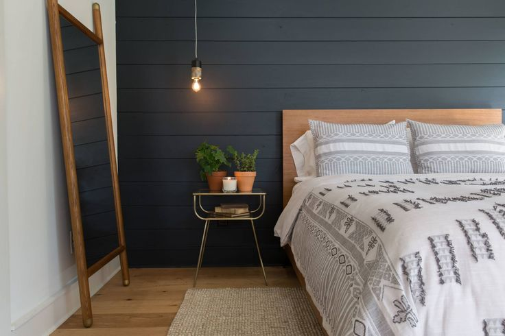The Pick-a-door House | Season 4 | Fixer Upper | Magnolia Market |Bedroom | Chip & Joanna Gaines | Waco, TX | Black Shiplap