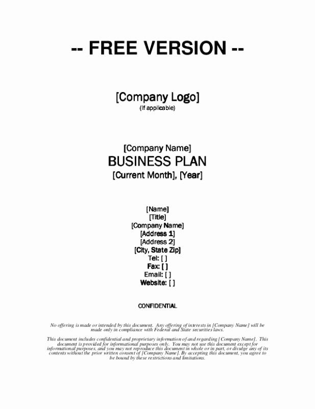 Business Plan Template Free from i.pinimg.com