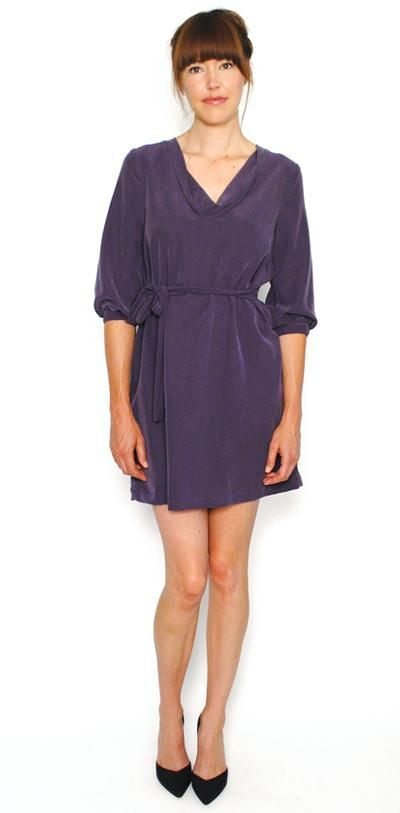 This is the fancy, pricey version of the little $11 Old Navy dress I found on clearance this spring.