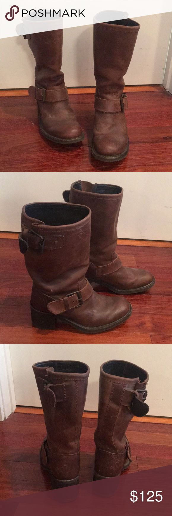 Never worn Brown Ash boots. Size 39. Brown Ash boots size 39. Never worn. Ash Shoes Heeled Boots