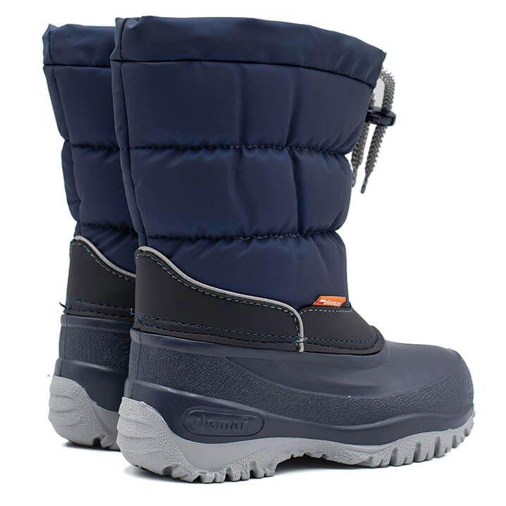 Sniegowce Dzieciece Z Wkladem Buty Zimowe Ocieplane Polskie Demar Lucky A Winter Boots Kid Shoes Boots