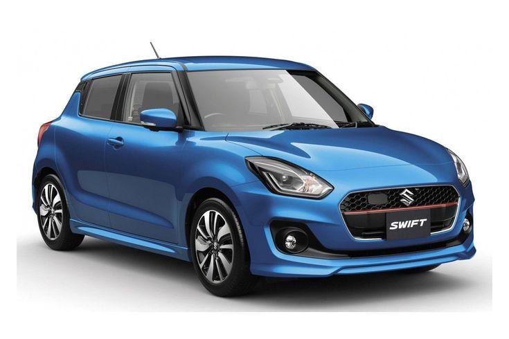 Nieuwe Suzuki Swift is officieel in het land van de rijzende zon