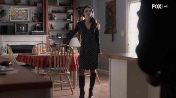 Lecciones de estilo de Elizabeth Jennings (The Americans. Season 1, Episode 10).