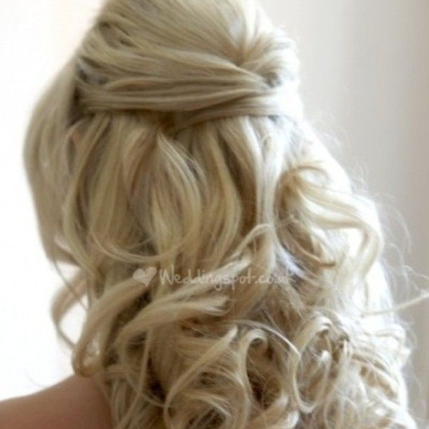 This is so my hair for the big day!! He likes my hair down more than anything!!
