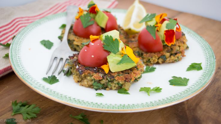 Quinoa Quaffle - These vegetarian quinoa patties are so delicious and are a great way to use up leftover or excess cooked quinoa. They can also become the most delicious tuna patties. Suitable for gluten-free, dairy-free, grain-free, vegetarian.