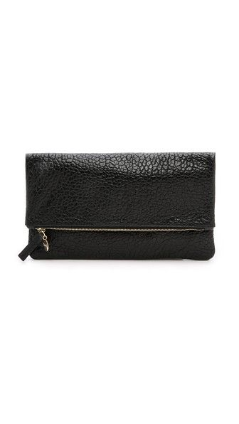 Clare V. Supreme Fold Over Clutch - HAVE TO HAVE