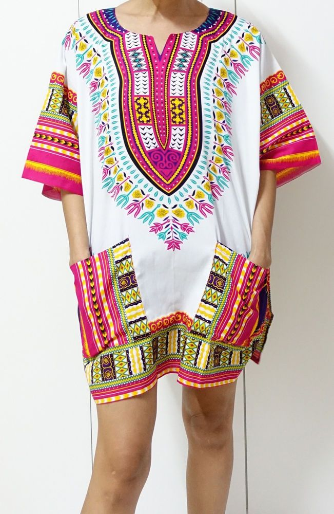 retro HIPPIE BOHO GYPSY ART music festival African Dashiki Shirts unisex top 587 #Unbranded #Blouse #Casual