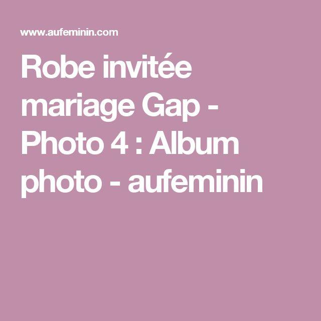 Robe invitée mariage Gap - Photo 4 : Album photo - aufeminin
