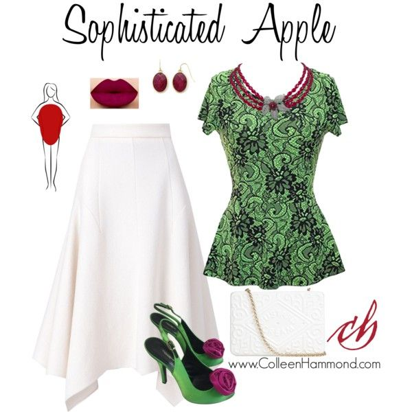 Sophisticated Apple 2 by colleen-hammond on Polyvore featuring мода, STELLA McCARTNEY, Dolce&Gabbana, Anya Hindmarch and Liz Claiborne