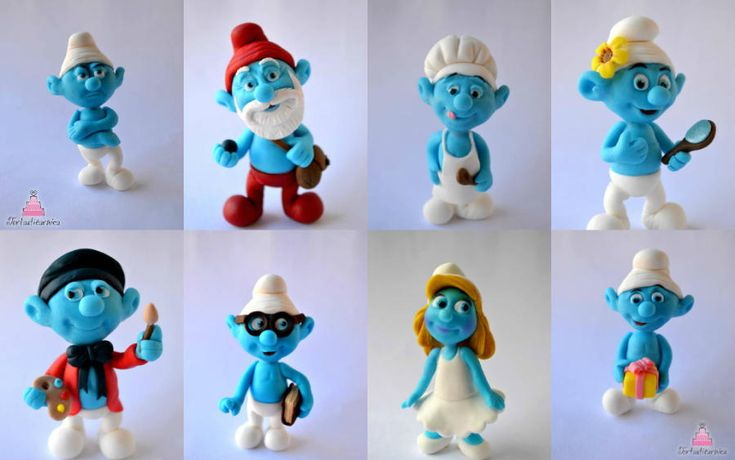 Smurfs toppers