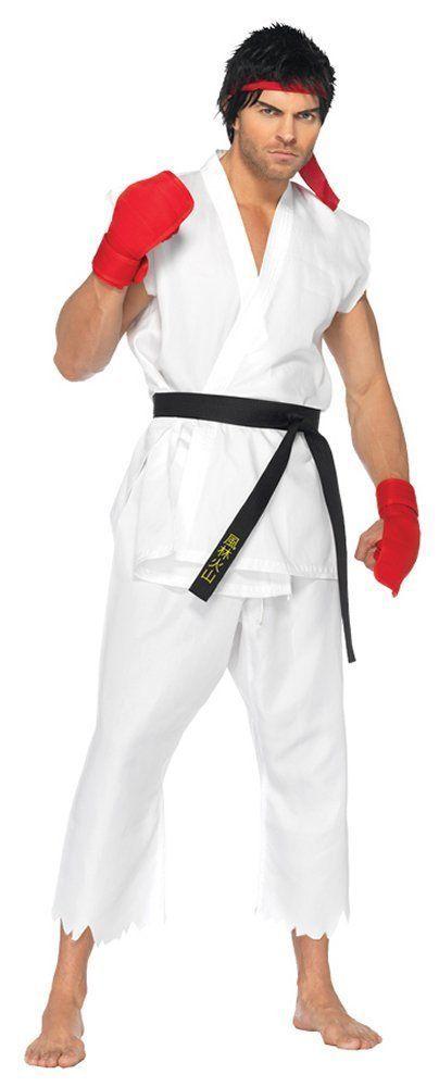 Costumes! Street Fighter Ryu Gi Costume Adult 42-46 #TheBigAppleCostumeCompany