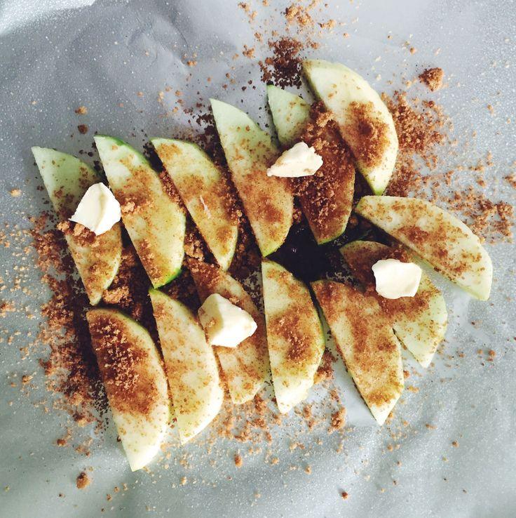 Foil Pack Cinnamon Apples  - Delish.com