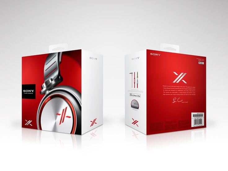 SONY: X Headphones - Andrew Glendinning - Designer