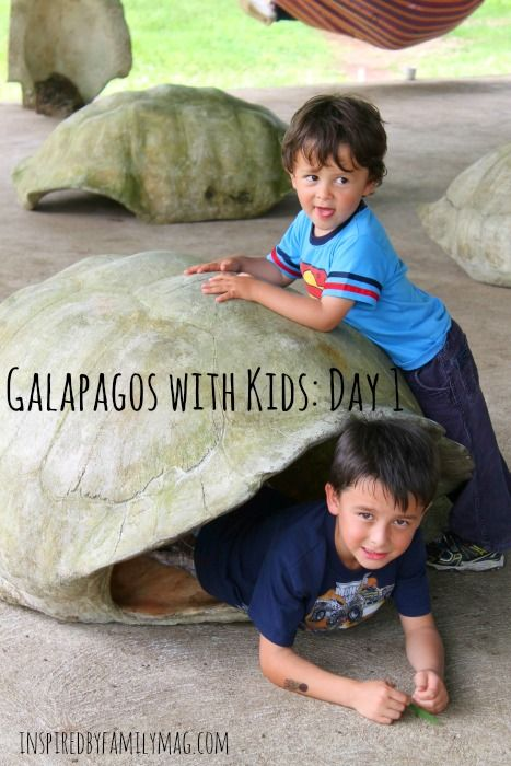 Traveling with Kids in Ecuador: Galapagos Day One