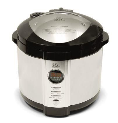 Wolfgang Puck Bistro Digital Pressure Cooker Manual | hip pressure cooking
