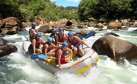 White Water Rafting at Tully River is the best, its worth the money and also getting up early for.