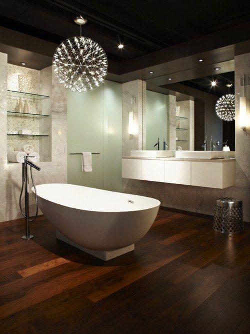 Выбираем #светильники  для ванной комнаты  Да будет #свет! Качественное #освещение — залог не только хорошей видимости, но и хорошего самочувствия. Очень неприятно, когда прибор освещает комнату лишь наполовину или настолько тускло, что, кажется, лучше вообще быть в темноте. Однако не стоит путать мягкий приглушенный свет с полумраком.  http://santehnika-tut.ru/