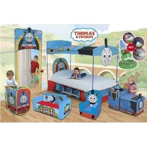 thomas cosy chair and my sons idea of the best room ever