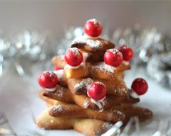 Christmas Tree Biscuits - gift idea for this aunties and uncles