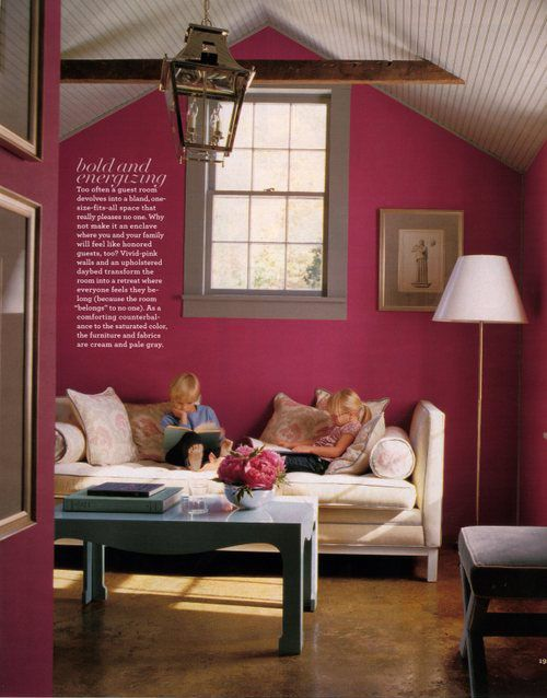 Fuschia! This Is The Color Of My Room At Home...Iu0027