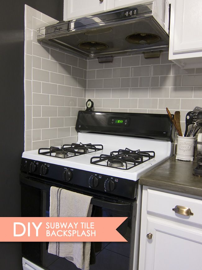on pinterest grey subway tiles stove and subway tile backsplash