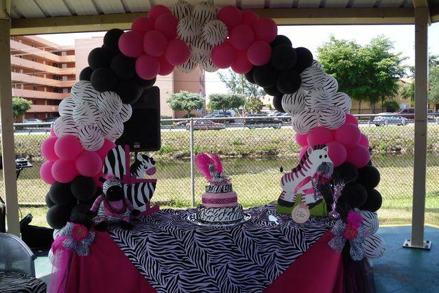 Zebra Baby Shower