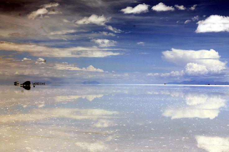 En el Salar de Uyuni http://gozandoestoy.com/?p=257