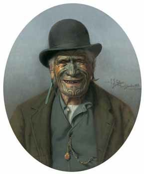 "CF Goldie ""A Good Joke"" Canvas Print for Sale - New Zealand Art Prints"