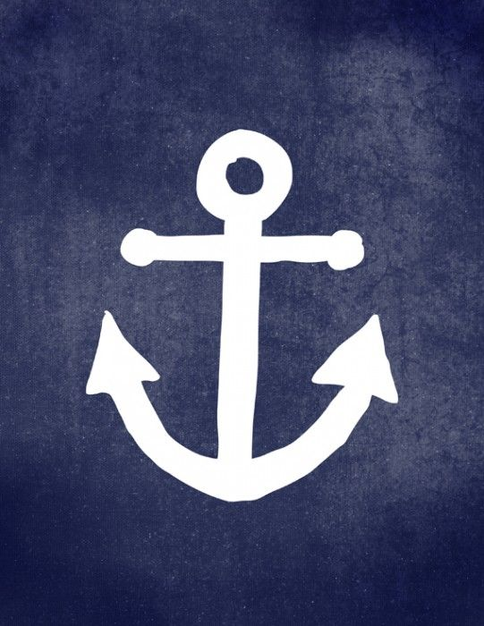 Free Printable Anchor Art + 9 more free printable wall art pieces that you won't believe are free!