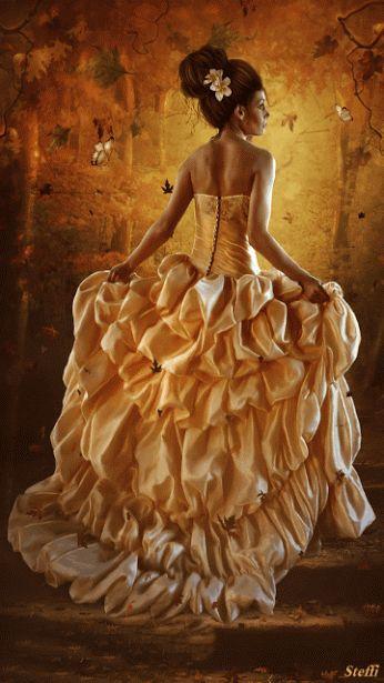 vestido gif