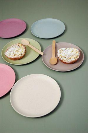 Raw Earth Take the Cake Plates - biodegradable homeware.