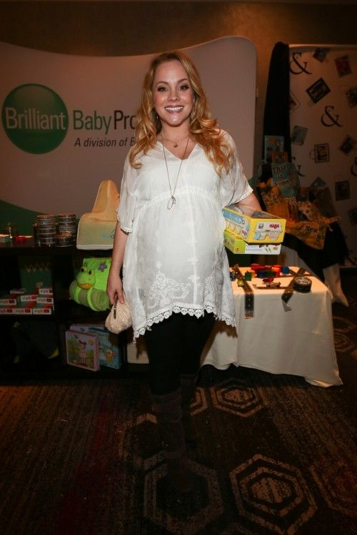 Kelly Stables Wows In White