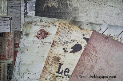 Kifli és levendula: Vintage ajándékkísérők